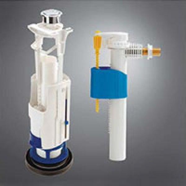 Комплект сливной механизм для унитазов 3V301+заливной механизм SIL10 /0703121/3V302/