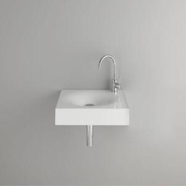 Раковина BetteBowl 530х530х125 мм подвесная, белая, с отверстием под смеситель, сталь-эмаль /А027 HLW1/