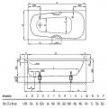 BetteForm 3710 Plus, AD Ванна прямоугольная 170х75 см