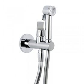 Гигиенический комплект (смеситель, шланг, гигиенический  душ, держатель для душа с подводом, внутренняя часть) /F2310CR/
