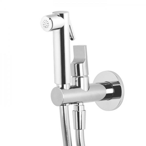 Гигиенический душ брашированный никель Carlo Frattini F2320/1NSN Латунь