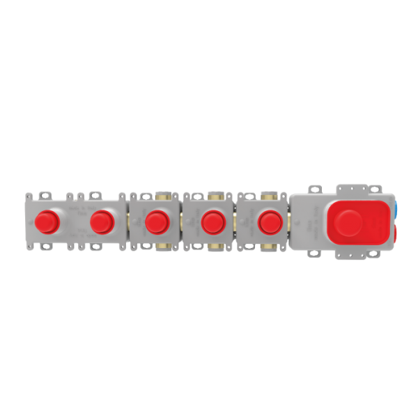 Внутренняя часть для смесителя с термостатом на 4 потребителя F2464/1