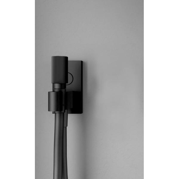 Ручной душ с держателем и подводом воды Carlo Frattini Switch F5925NS