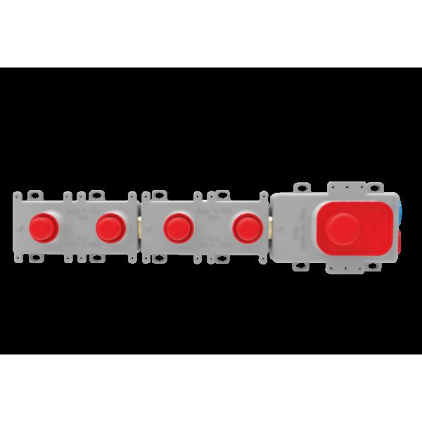 Внутренняя часть для смесителя с термостатом на 2 потребителя F2462/2