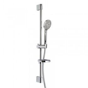 Душевой гарнитур (душевая штанга, шланг 1500 мм, ручной душ - 3 режима, мыльница /F2679CR/