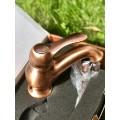 Смеситель медный для раковины Carlo Frattini Lamp F3301RА