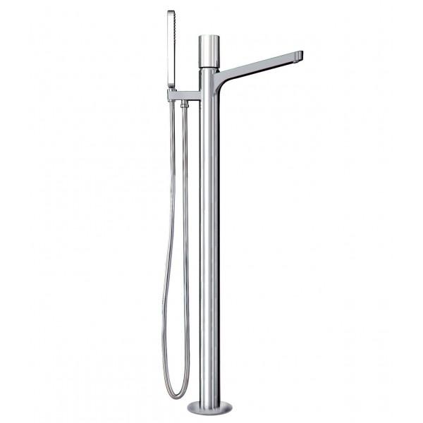 Смеситель напольный для ванны Carlo Frattini Nomos GO F4164/4CR