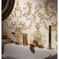 Смеситель для раковины золотой Carlo Frattini Texture F5601HOR Carlo Frattini