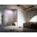 Паровая душевая кабина Nonsolodoccia HOME Glass 1989 160x100 см