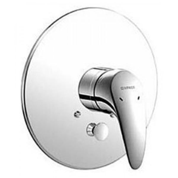 Внешняя часть смесителя для ванны, с переключателем, ручка сплошная HANSASUBLIME 54849103