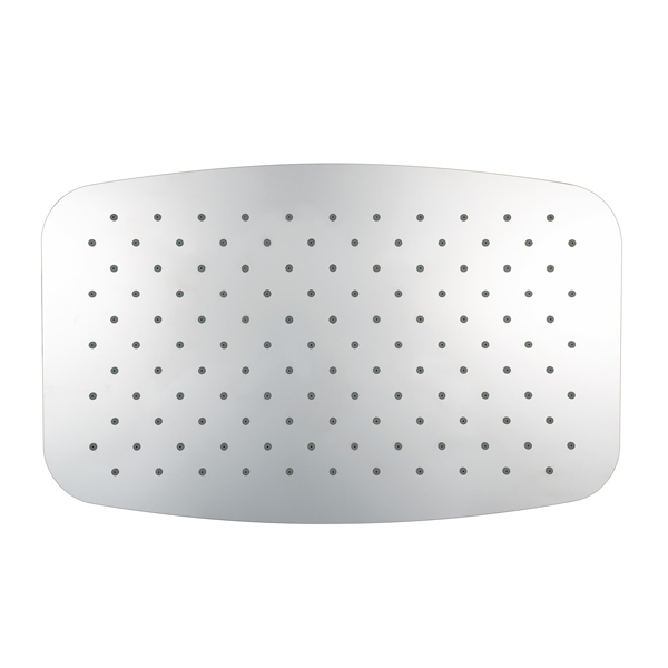 Верхний душ Softcube,супер плоский 300х200х2 мм , хром , прямоугольный ,пропускная способность 9 л/мин /1180055/