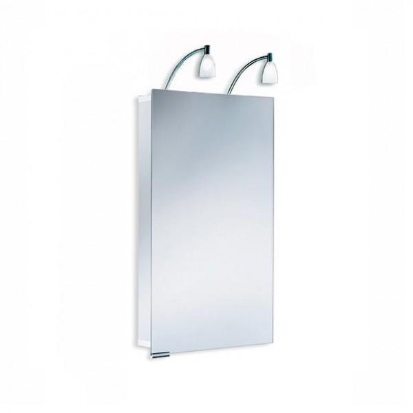 Зеркальный шкаф со светильником 1101045 HSK Stableuchte 45x75 см
