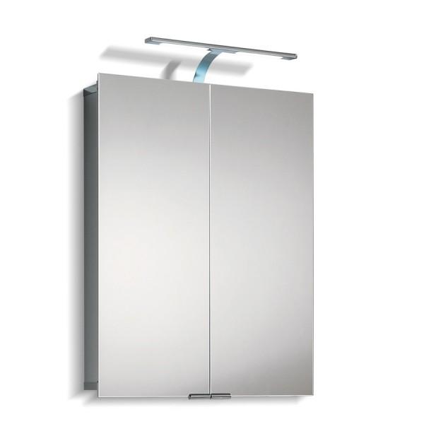Зеркальный шкаф со светильником 1102075 HSK 75х75 см