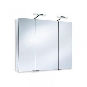 Зеркальный шкаф со светильником 1103105 HSK 105x75 см