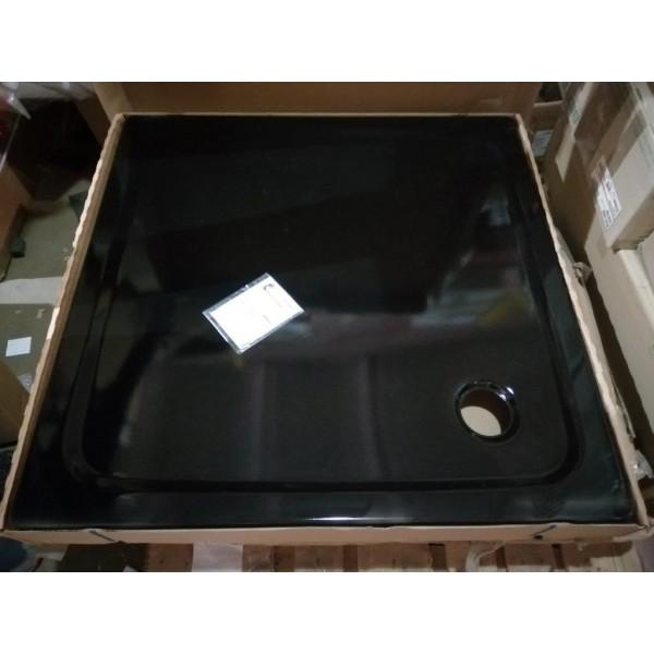 Поддон черный Kaldewei SUPERPLAN 100x100 x2,5 см 391-2