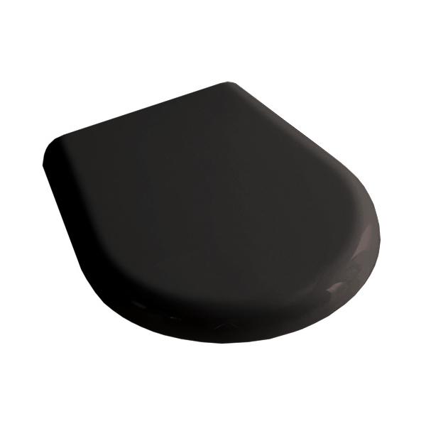 Крышка чёрная для унитаза Kerasan K09 368804