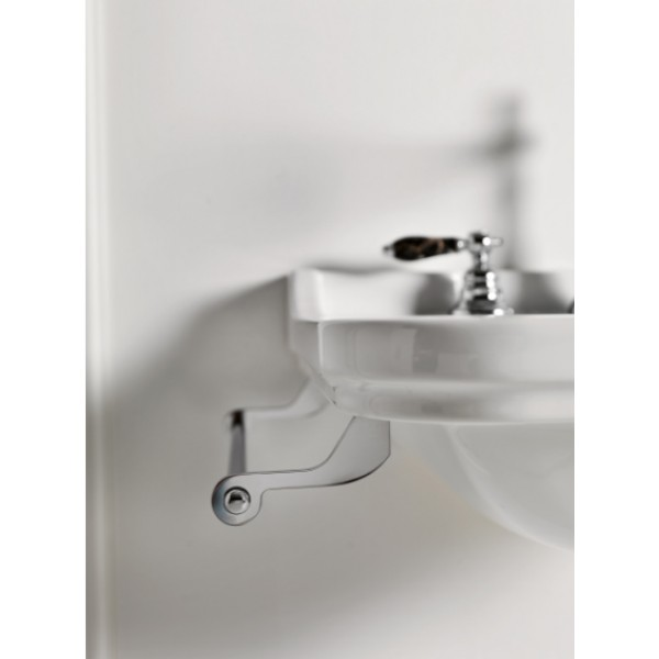 Боковой полотенцедержатель 40 см для раковин Waldorf , хром /740890/
