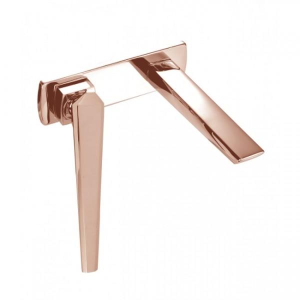 Смеситель для раковины Maier IKON розовое золото 74304OR