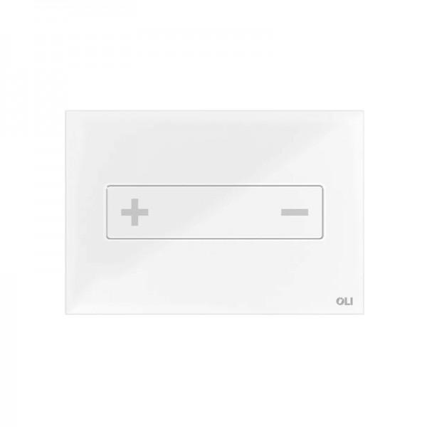 Смывная клавиша стеклянная OLI OCEANIA 054554 МЕХ