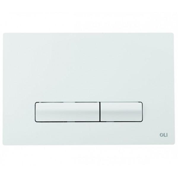 Смывная клавиша белая OLI GLAM 139184 МЕХ