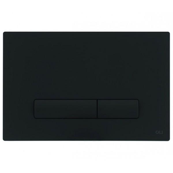 Смывная клавиша черная OLI GLAM OLIpure 139181 МЕХ