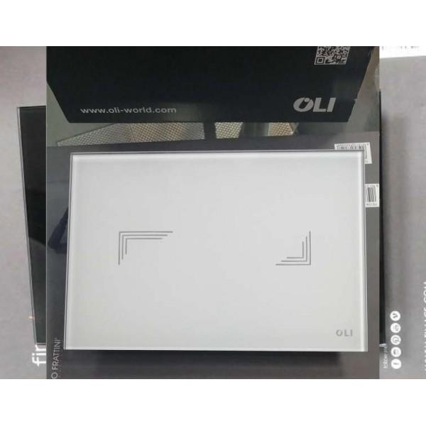 Накладная стеклянная панель смыва OLI Tribe 879065