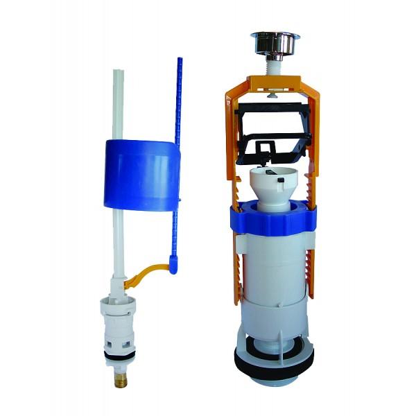 Комплект OLI DECO 037192 наполнительный и сливной клапаны в сборе