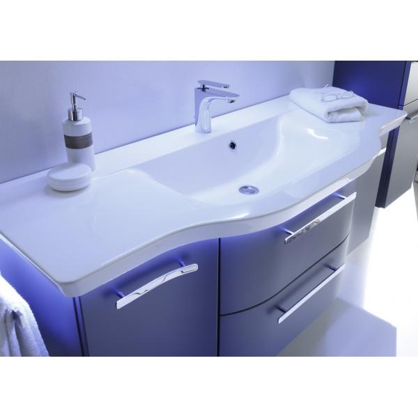 CONTEA Раковина 28х1280х505, белая, мраморная /CT-MMWTR 505-1280/