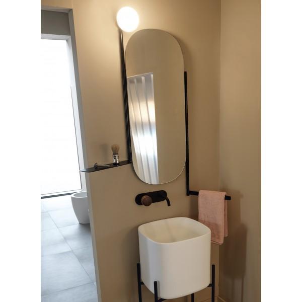 DIVA Scarabeo зеркало овальное 90х45 см 2704 NROP