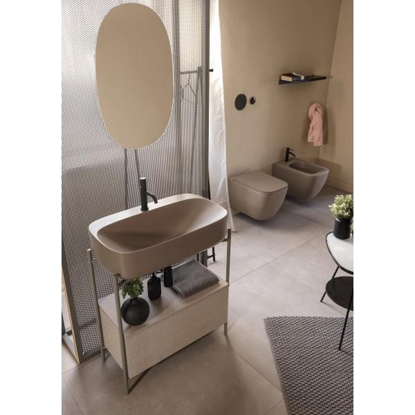 DIVA Scarabeo зеркало овальное 70х40 см 2206