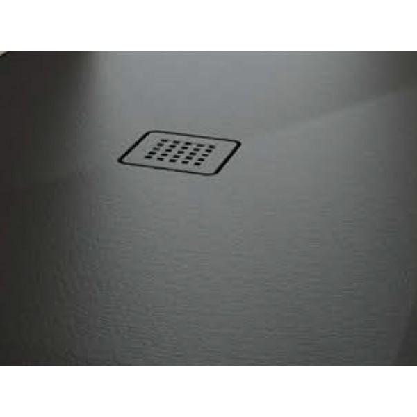 Решетка для поддона Scarabeo Step Nero matt чёрная 303123