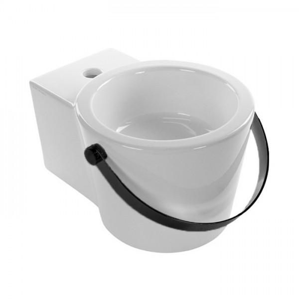Раковина Bucket Scarabeo 30x22.5x40 см 8802NS SCARABEO