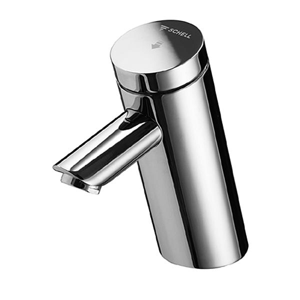 Нажимной самозакрывающийся смеситель для холодной или предварительно смешанной воды SCHELL PURIS SCC, хром /021100699/