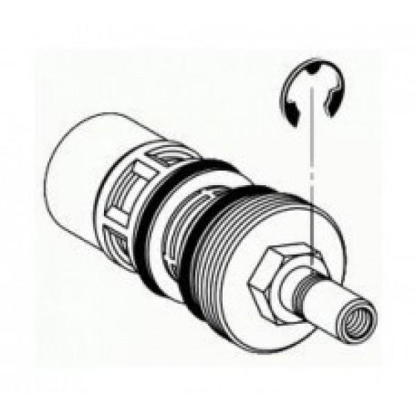 Картридж нажимной для писсуара и унитаза скрытого монтажа Schell 294160099
