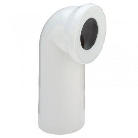 Отвод для унитаза VIEGA под углом 90 градусов, с манжетным уплотнителем, белый, пластик, dn 100, модель 3811/100551/