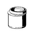 Переходник VIEGA , вставка редукционная ,  для инсталяций , dn 90/100/440459/