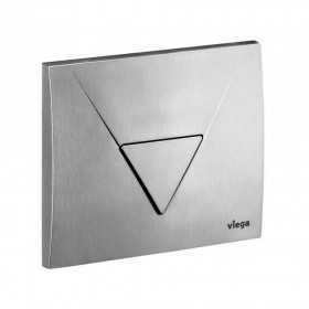 VIEGA Панель кнопки смыва Visign 1 ,  пластик -хром , 150х135  для писсуара /448806/