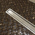 Декоративная накладка VIEGA для душевого трапа ER2- 900 мм, поверхность матовая, нержавеющая сталь /571498/