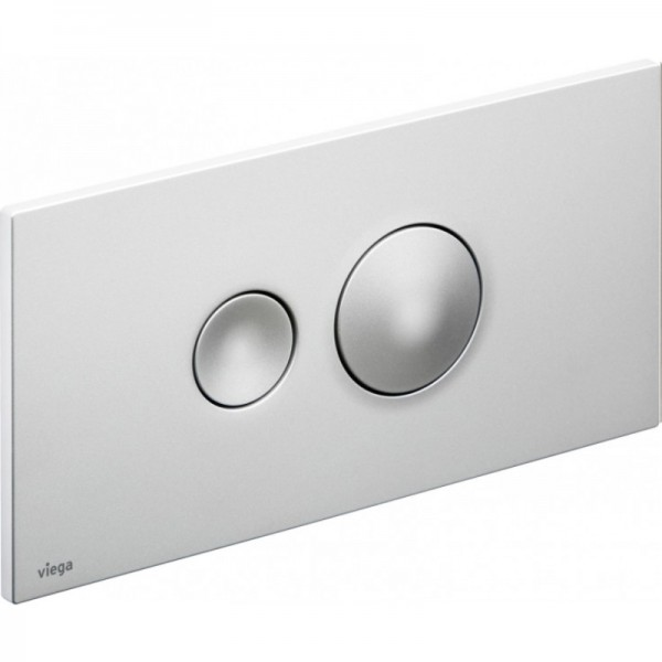Кнопка смыва Viega Visign for Style 10 матовый хром 596347