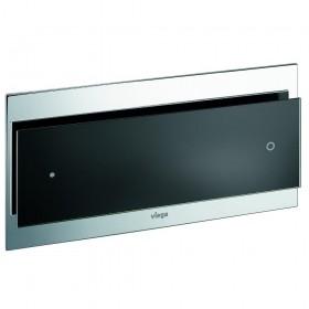 Кнопка  VIEGA  Visign for More 102  271х140 для инсталяции, стекло/черный /597047/