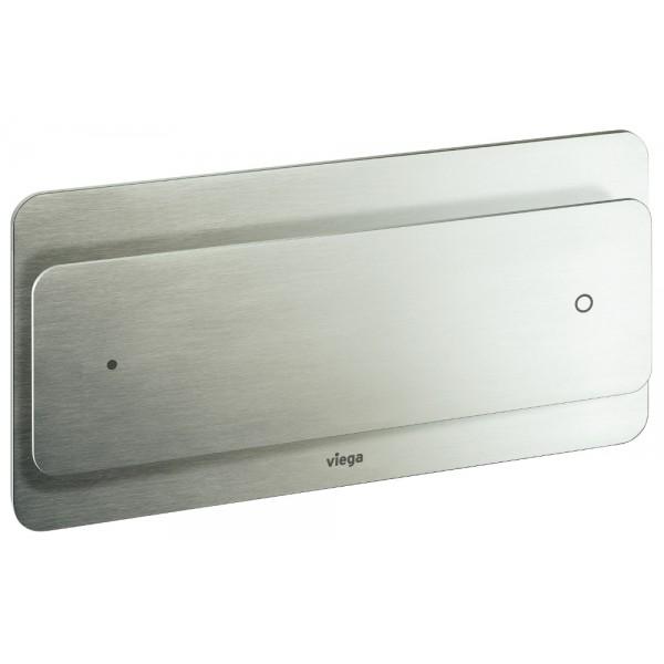 Кнопка  VIEGA Visign for More102  271х140 для инсталяции,металл,нержавеющая сталь , матовая поверхность /597528/