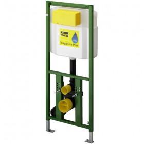 Инсталяция VIEGA для навесного унитаза , стальная рама, порошковое покрытие, смывной бачок  /606664/