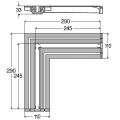 Cоединительный элемент Advantix Vario угол 90 /708924/