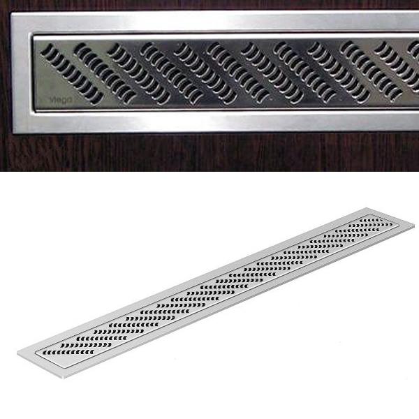 Декоративная накладка для душевого трапа 1000 мм, глянцевая /589691/ ER5