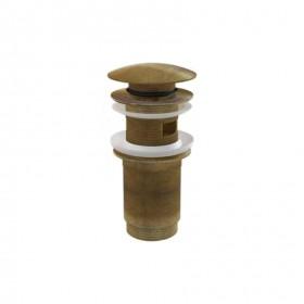 Донный клапан для раковины AlcaPlast бронза A392-ANTIC