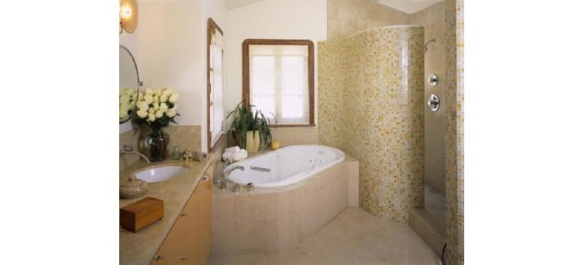 Американский стиль в оформлении ванной комнаты
