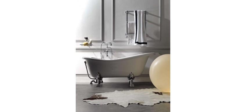 Санузел в стиле ретро или ванна под старину