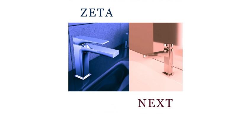 Новые серии смесителей от Carlo Frattini – Next и Zeta
