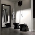 Биде напольное  RETRO , белое, керамика  /102001/
