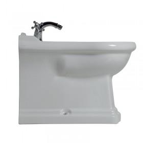 Биде напольное приставное  RETRO , белое, керамика  /102201/